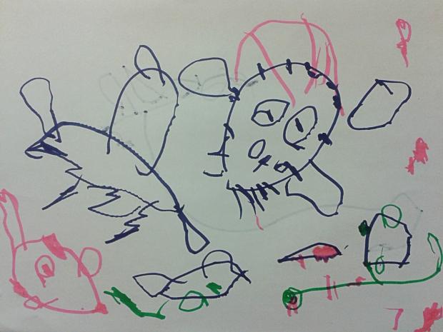 amoremiobello -dessin-enfant-2-ans-1
