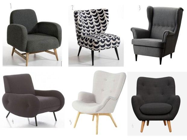 fauteuils-inspiration-fifties-sélection