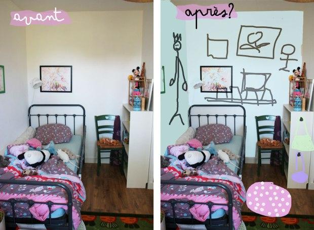 chambre-fille-avant-après